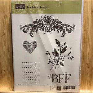 🍒 Stampin'Up! 🍒 Best Friend Forever Stamps Set